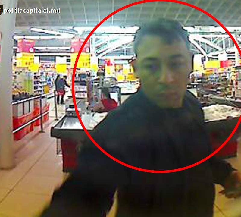 В Кишинёве полиция разыскивает подозреваемого в краже мужчину