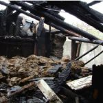 Крупный пожар в Бельцах: дотла сгорели складские помещения и гараж