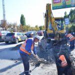 Столичные власти занялись ремонтом ливневой канализации на Албишоаре (ФОТО)