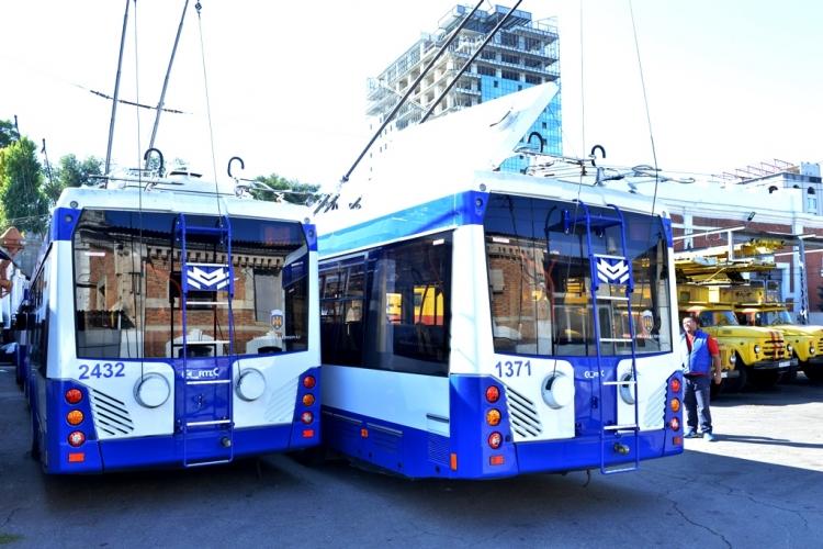 В столице появятся 5 новых троллейбусов с автономным ходом (ФОТО)