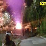 Во дворе дома на Чеканах сгорел автомобиль (ФОТО)