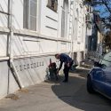 Ион Чебан возложил цветы у дома, где жил Карл Шмидт (ФОТО)