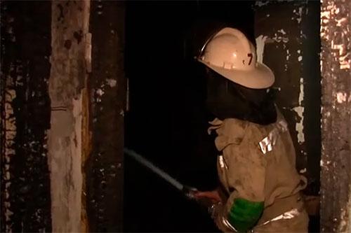 Сильный пожар навредил жилищу пенсионерки из Слободзеи