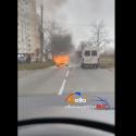 (ОБНОВЛЕНО) В Кишинёве загорелся автомобиль (ВИДЕО)