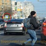 НИП: В столице ежечасно десятки пешеходов переходят дорогу в неположенных местах (ВИДЕО)