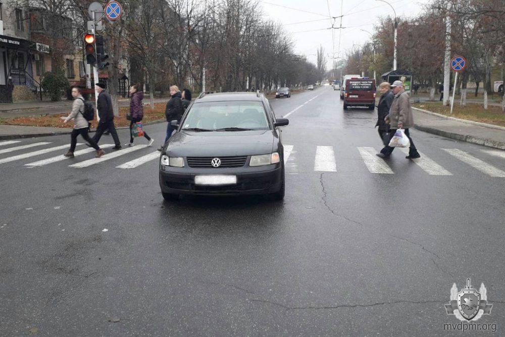 Пожилая тираспольчанка угодила на пешеходном переходе под колёса авто (ФОТО)