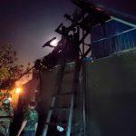 В Слободзее пожарные тушили крышу жилого дома (ФОТО)