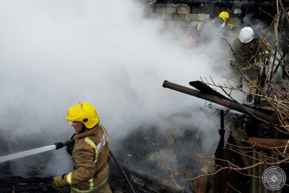 Детская шалость привела к пожару в Парканах (ФОТО)