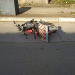 В Чадыр-Лунге нетрезвый водитель перевернулся на мопеде и оказался в больнице