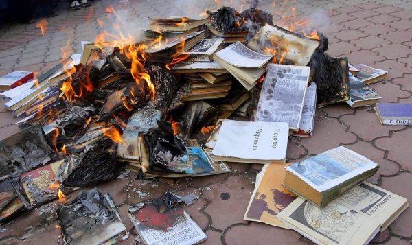 В Конгазе поймали вандала, учинившего разгром в библиотеке