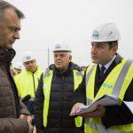 Ион Кику проверил ход работ по строительству нового участка дороги (ФОТО)