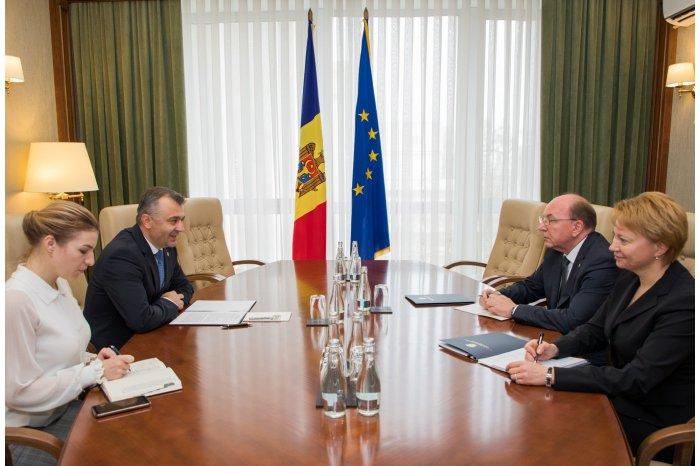 Кику на встрече с послом России: Для нас важно восстановить партнерство с Российской Федерацией и повысить уровень взаимного доверия