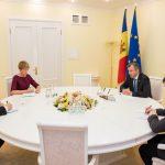 Ион Кику провел встречу с главой делегации ЕС в Молдове
