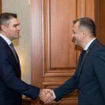 Премьер-министр принял временного поверенного в делах Украины в Республике Молдова