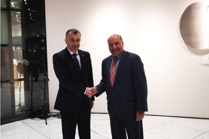Кику участвует в инвестиционном форуме ЕБРР, посвященном государствам Восточного партнерства