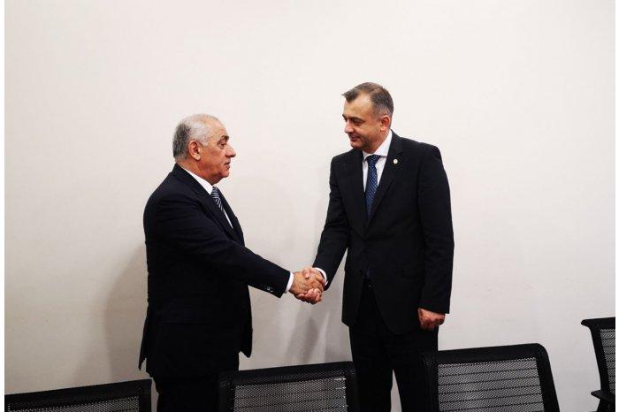 Премьер-министр Ион Кику встретился со своим азербайджанским коллегой