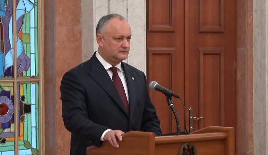 Додон прокомментировал введение санкций США в отношении Плахотнюка