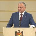 Додон: Призываю все партии учитывать национальный интерес и то, что граждане не хотят досрочных выборов (ВИДЕО)