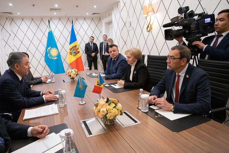 Гречаный обсудила с председателем Мажилиса Парламента Казахстана организацию совместных инвестиционных форумов (ВИДЕО)