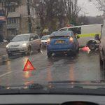 В столице произошло ДТП с участием машины полицейских (ФОТО)