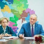 """Создание коалиции с """"АКУМ"""" на местах, включая Кишинев, и внесение скорейших изменений в состав кабмина: что обсуждал президент с фракцией ПСРМ (ФОТО, ВИДЕО)"""