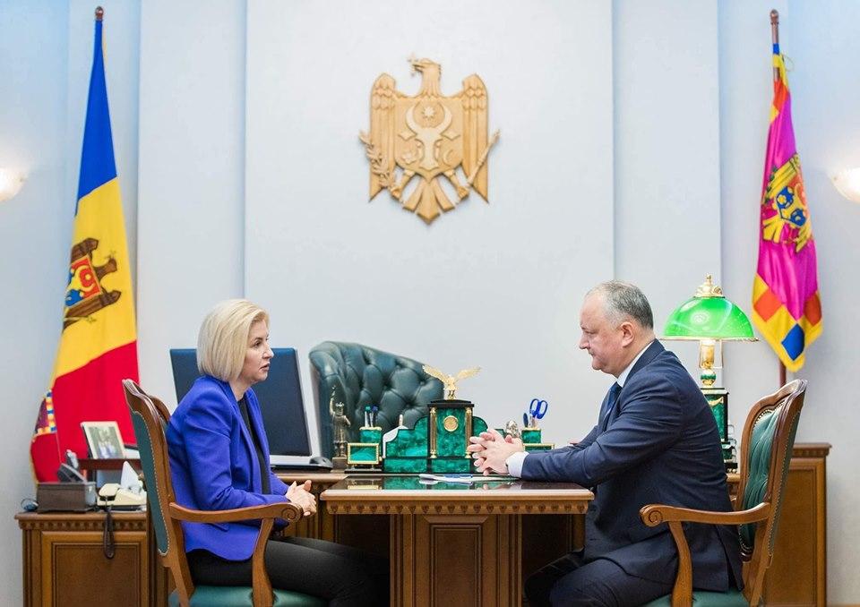 Встреча Додон – Влах: О чем говорили президент и башкан Гагаузии (ФОТО, ВИДЕО)