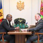 Встреча Додон - Хоган: что обсуждали президент и посол США (ФОТО, ВИДЕО)