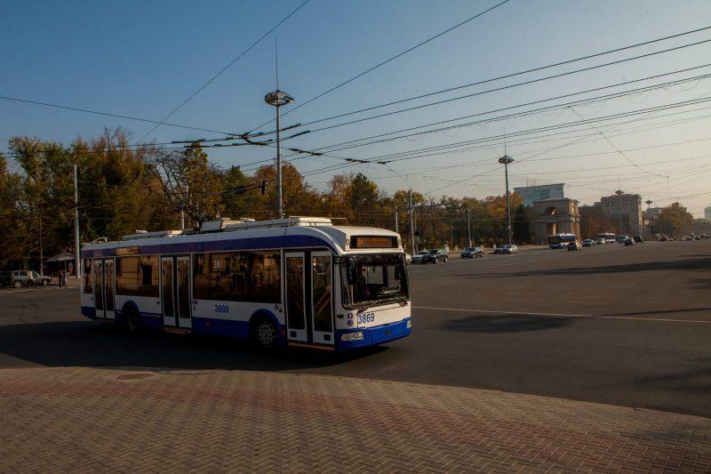 Из-за работ на бульваре Штефана чел Маре троллейбусы перенаправят на другие улицы