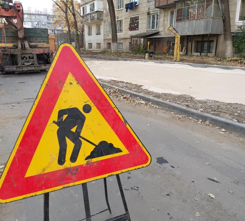 Для удобства граждан: на Ботанике ведутся работы по благоустройству парковок (ФОТО)