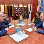 Ион Чебан провел встречу с послом Румынии (ФОТО)