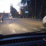 На Чеканах на пешеходном переходе сбили женщину (ФОТО)