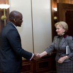 Зинаида Гречаный провела встречу с послом США в Молдове (ФОТО)
