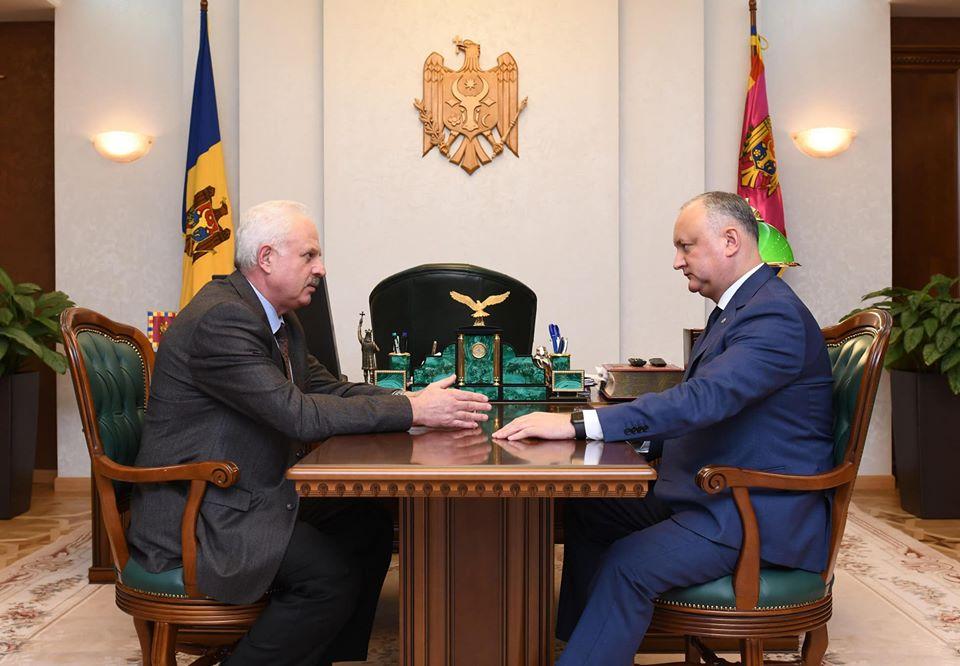 Василий Шова вернулся в команду президента (ФОТО, ВИДЕО)