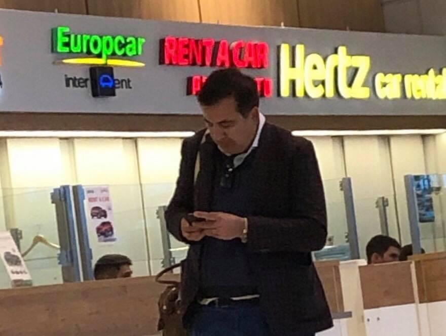 В Кишинёв прилетел Саакашвили