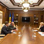 Зинаида Гречаный обсудила актуальные вопросы сотрудничества с послом Румынии в РМ (ФОТО)