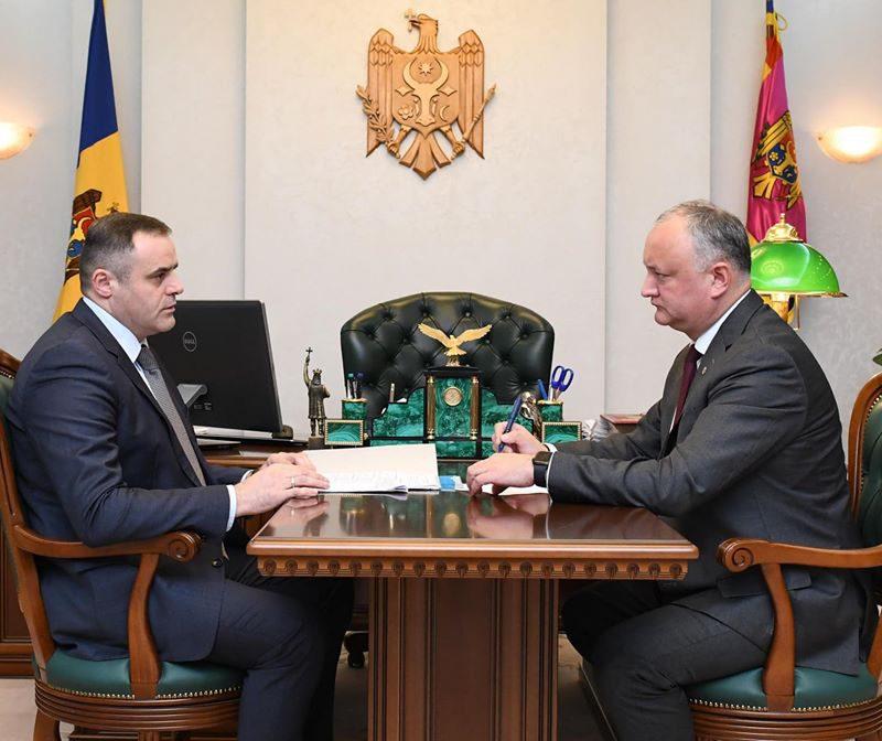 Ситуация с обеспечением Молдовы природным газом – в поле зрения президента (ВИДЕО, ФОТО)