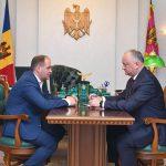 Игорь Додон провел встречу с Ионом Чебаном. Президент призвал нового градоначальника стать мэром для всех (ВИДЕО, ФОТО)