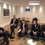 Министр юстиции встретился с главой Венецианской комиссии