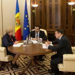 Зинаида Гречаный провела встречу с главой миссии МВФ в Молдове (ФОТО)