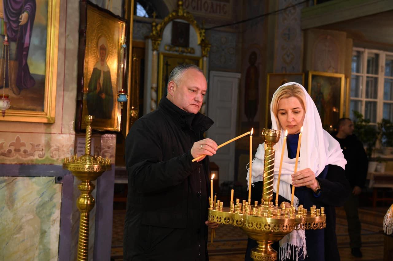 Президент провел встречу с Ириной Влах и принял участие в чине освящения приходского дома Кафедрального собора Иоанна Предтечи (ФОТО, ВИДЕО)