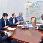 Ион Чебан провел встречу с послом США в Молдове (ФОТО)