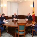 В президентуре обсудили вопрос открытия расчетных счетов экономических агентов из Приднестровья в коммерческих банках страны (ФОТО, ВИДЕО)