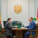 Президент провел встречу с директором СИБ (ФОТО, ВИДЕО)