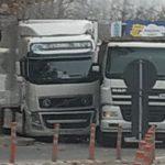 На Чеканах столкнулись два большегруза (ФОТО)