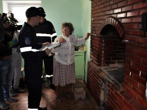 В ГИЧС запустили кампанию по предотвращению пожаров (ФОТО, ВИДЕО)