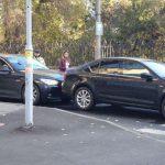 Утреннее ДТП: на Буюканах не разъехались два авто (ФОТО)