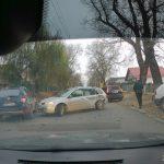 На Мунчештской образовалась пробка в результате ДТП (ФОТО)