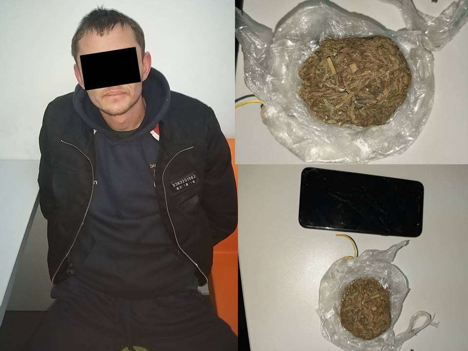 Мужчину с пакетом наркотиков задержали на Буюканах (ВИДЕО)