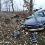Смертельная авария в Окнице: пассажир скончался, водитель в реанимации (ФОТО)