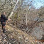 Молдаванин переплыл Прут, чтобы добраться до Германии: пограничники задержали нарушителя (ФОТО)